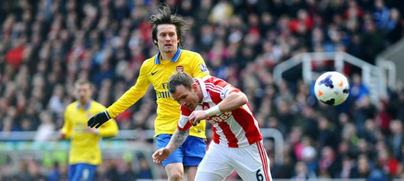 Premier League Football Stoke V Arsenal