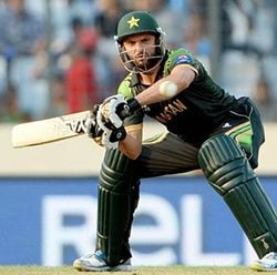 Afridi against the Aussies