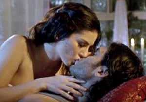 Kissing scene from Ragini MMS 2