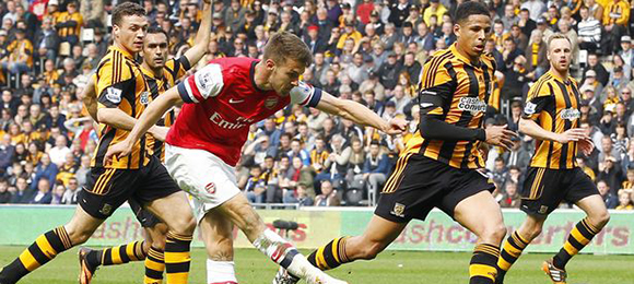 Premier League Hull V Arsenal