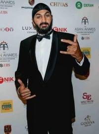 Monty Panesar Asian Awards 2014