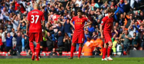 Premier League Liverpool 0 Chelsea 2