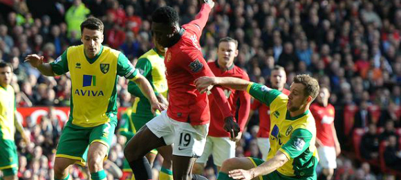 Premier League Manchester United 4 Norwich City 0