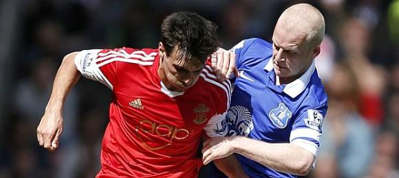 Premier League Southampton 2 Everton 0