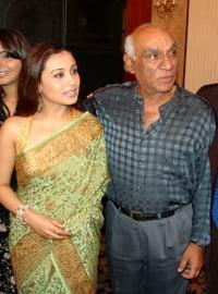 Rani and Yash Chopra