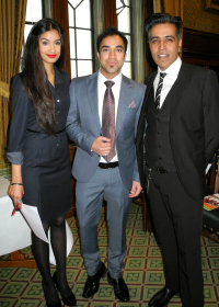 Sewa Pioneers Awards hosts Sunny & Shay with Sewa Day Ambassador, singer Navin Kundra