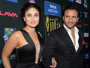 Saif and Kareena @ IIFA 2014