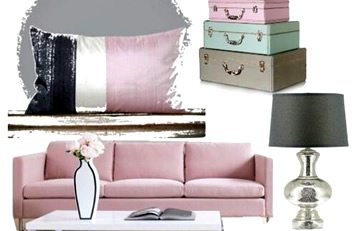 Interior design ideas - pastels