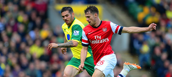 EPL - Norwich V Arsenal