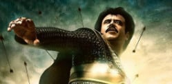 Rajinikanth and Deepika Padukone in Kochadaiiyaan