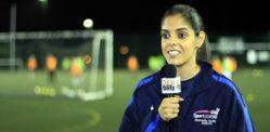 Footballer and Sports Therapist Saddiqa Shan