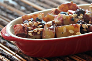 Sweet Potato Chaat