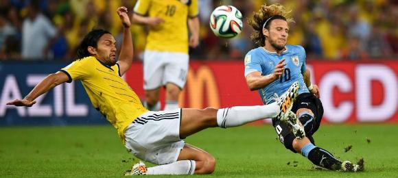 FIFA Columbia v Uruguay