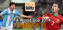 FIFA World Cup 2014 Fantasy XI Poll