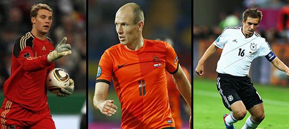Neuer, Robben & Lahm