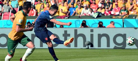 World Cup Australia V Netherlands