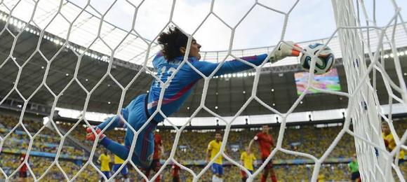 World Cup Brazil V Mexico