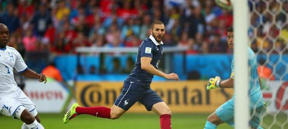World Cup France V Houndras