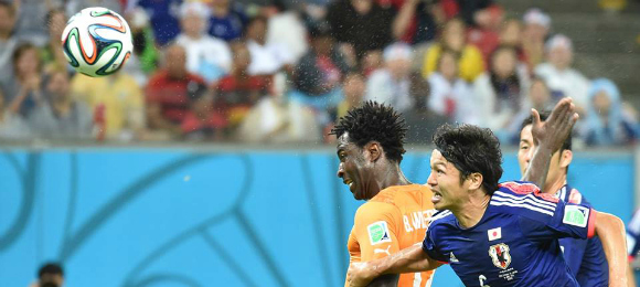 World Cup Ivory Coast v Japan