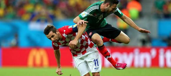 World Cup Croatia v Mexico