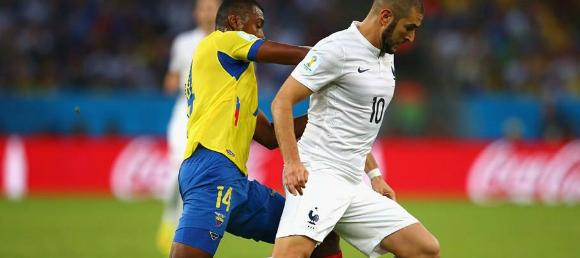 World Cup Ecuador v France