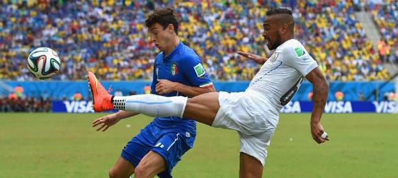 World Cup Italy v Uraguay