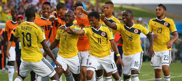 World Cup Japan v Columbia