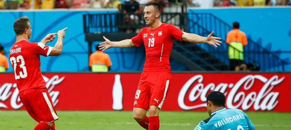 World Cup Switzerland v Houndras