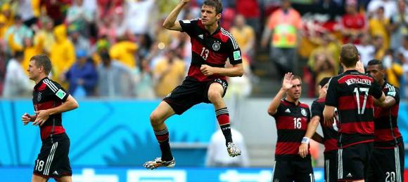 World Cup USA v Germany
