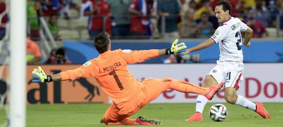 World Cup Uruguay V Costa Rica