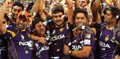 Kolkata Knight Riders win IPL Cricket 2014