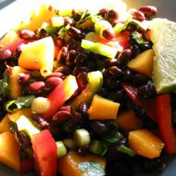 Thai Fish (or Black Beans) and Mango Salad