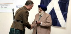 Indian World War II Veteran awarded Medal