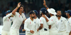 India makes Test Match History against England