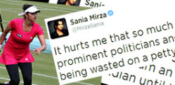 Sania Mirza defends her Indian Heritage
