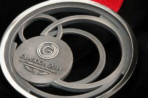 Team Scotland Medal