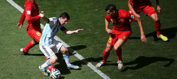 FIFA World Cup Argentina v Belgium