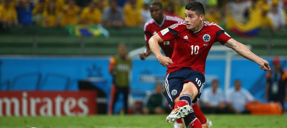 FIFA World Cup Brazil v Columbia