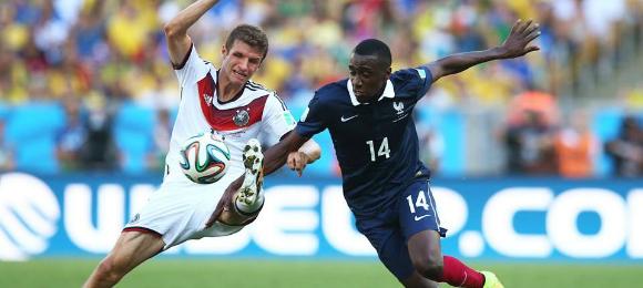 FIFA World Cup Germany v France