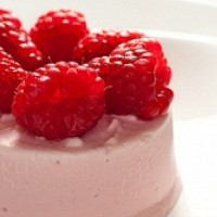 Raspberry Kulfi