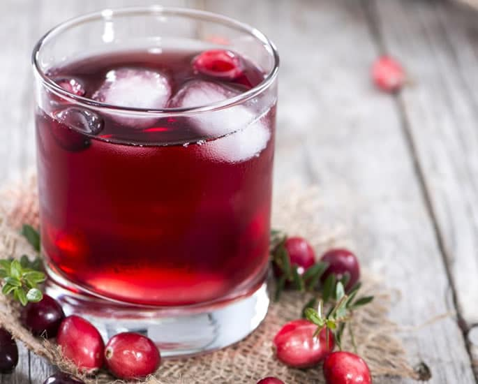 5 Healthy Drinks for Weight Loss - cranberry juice