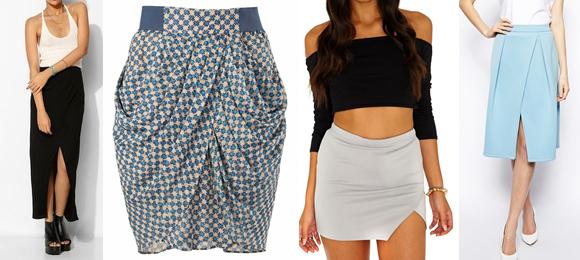 Crossover Skirt Trends