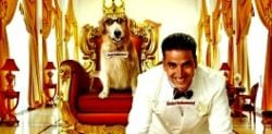 Akshay Kumar provides Canine Entertainment