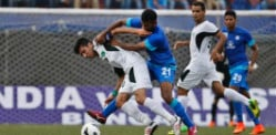 India vs Pakistan Football Series 2014 ends 1-1