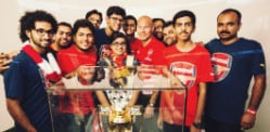 PUMA unveil new Arsenal Kits in India