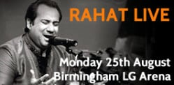 Win Tickets for Ustad Rahat Fateh Ali Khan