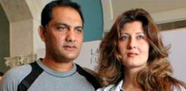 Sangeeta Bijlani and Azharuddin