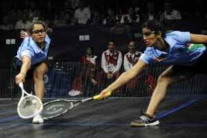 Dipika Pallikal and Joshna Chinappa