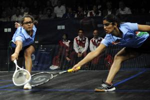 Dipika Pallikal and Joshna Chinappa