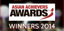 Winners of the Asian Achievers Awards 2014